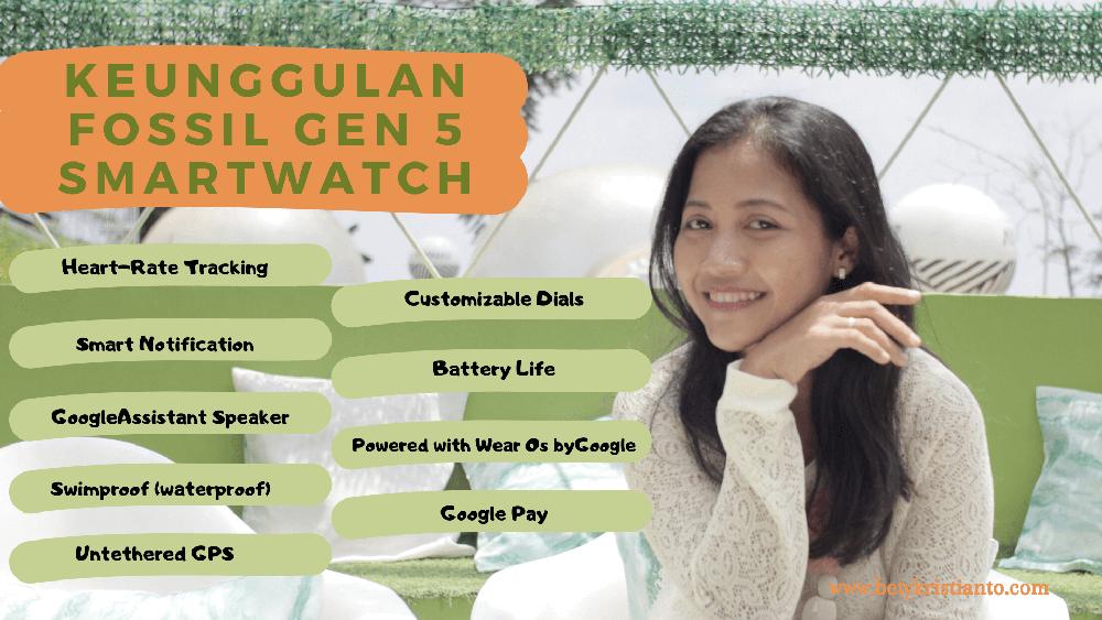 keunggulan fossil gen 5 smartwatch