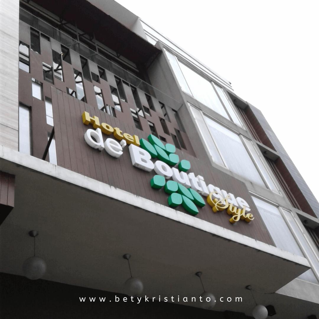 Butuh Rekomendasi Hotel di Malang? Kuy, ke De'Boutique Style