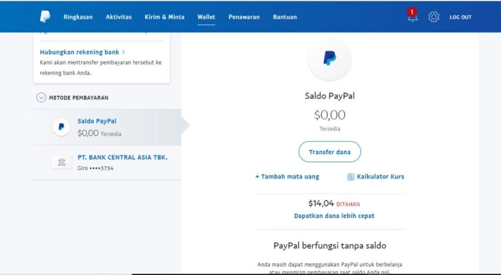 Cara Menarik Dana yang Tertahan di PayPal