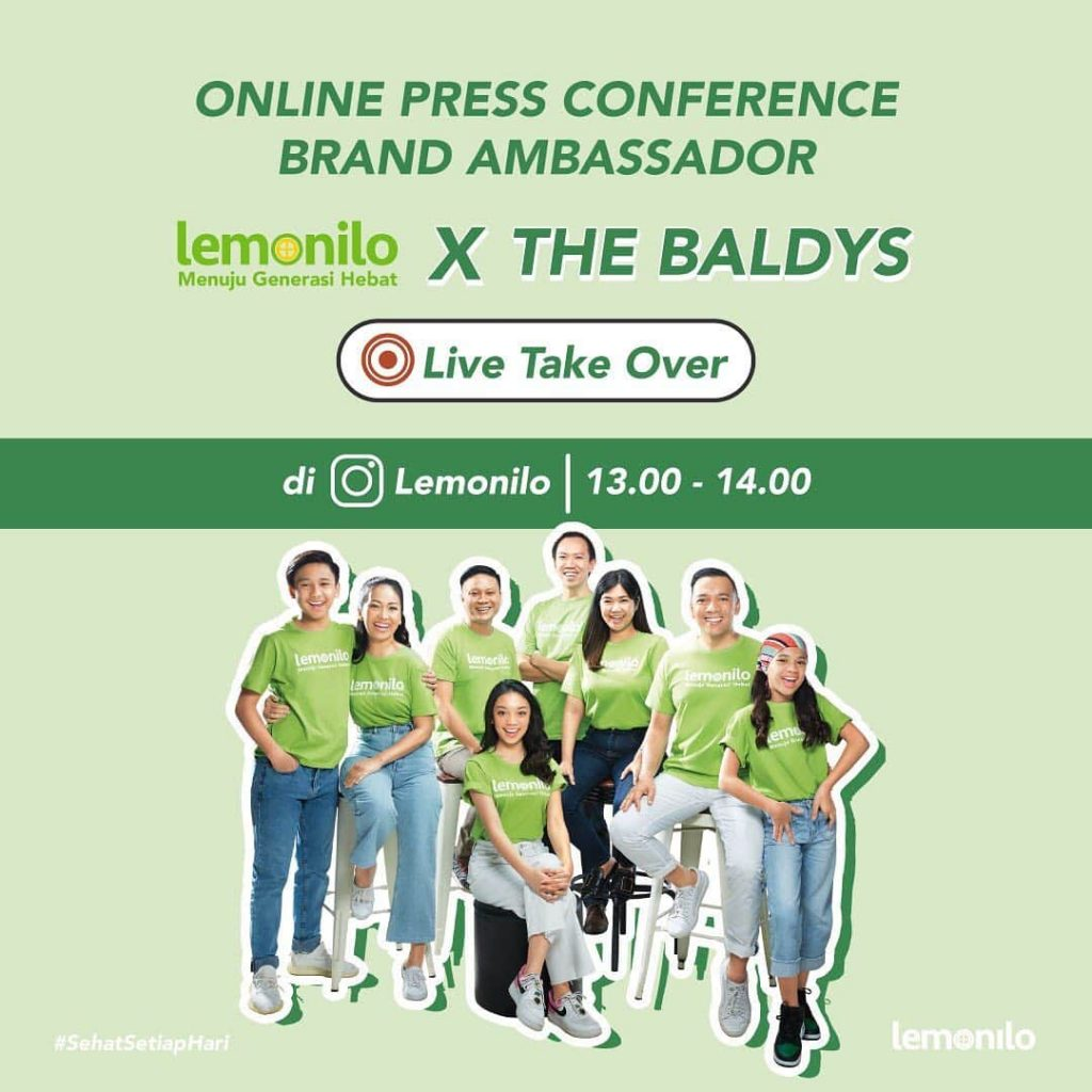 The Baldys Brand Ambassador Lemonilo