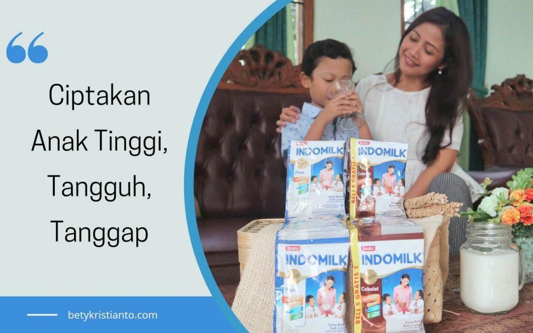 Indomilk Susu Bubuk, Pilihanku Ciptakan Anak Tinggi, Tangguh, Tanggap Optimal