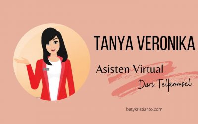 Tanya Veronika Asisten Virtual Telkomsel Selalu Ada Untukmu!
