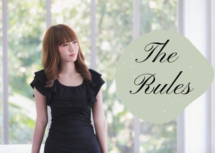 Tips memakai gaun hitam