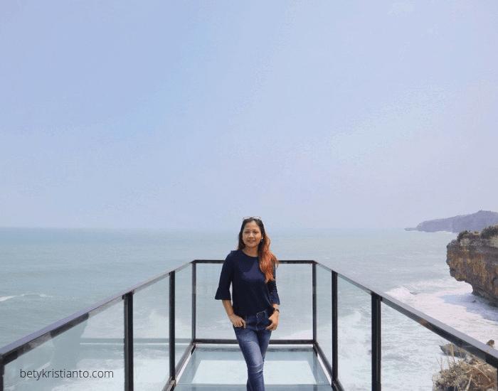 Teras kaca Heha ocean view