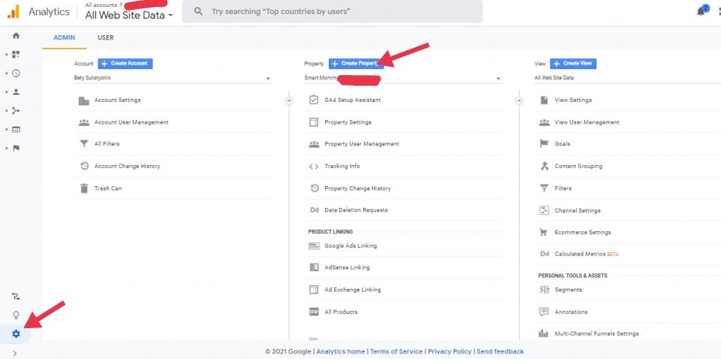 Cara memasang google analytics 2021