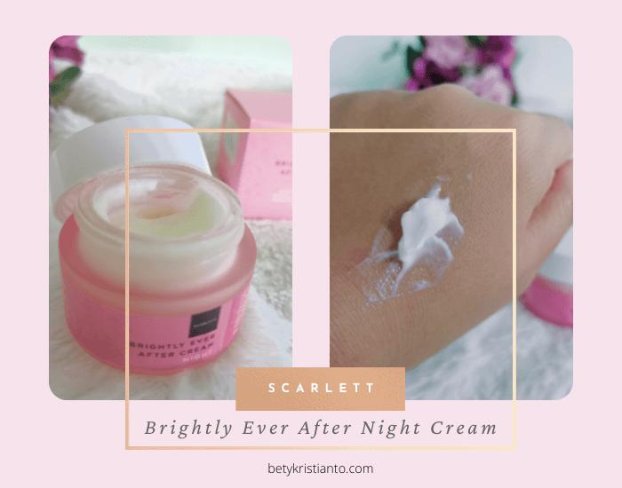 night cream scarlett