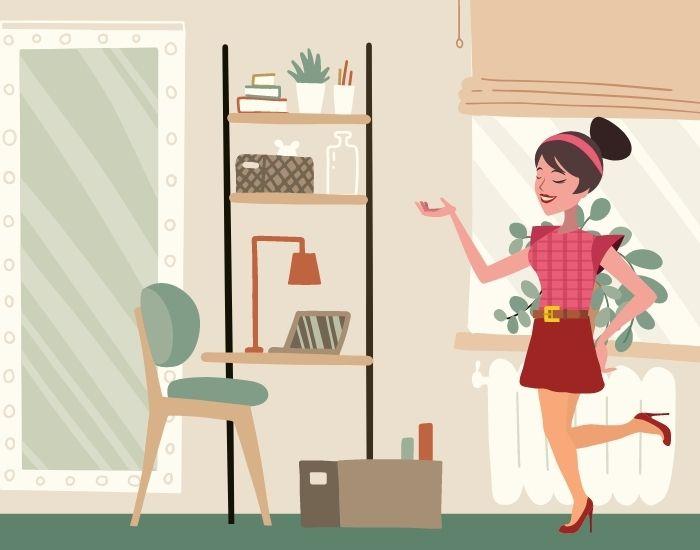 cara tetap waras meski di rumah aja