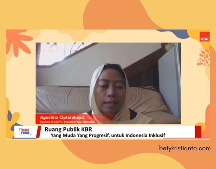 Botanina Hijau Indonesia
