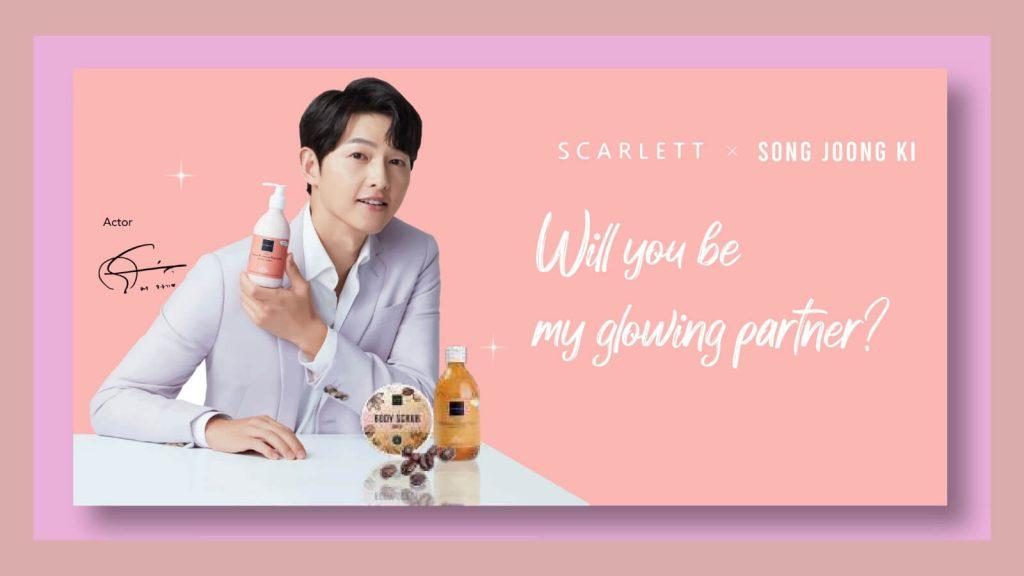 Brand ambassador Scarlett